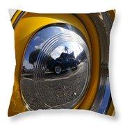 Classic Car Show Throw Pillow