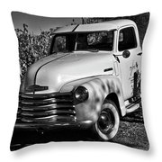 Classic Chevy Truck Throw Pillow