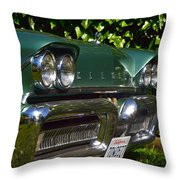 Classic Chrome Throw Pillow