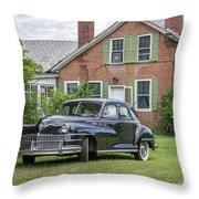 Classic Chrysler 1940s Sedan Throw Pillow