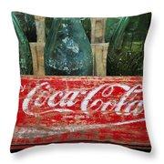 Classic Coke Throw Pillow
