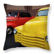 Classic Colors 5 Throw Pillow