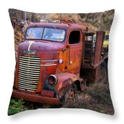 Classic Delivory Throw Pillow
