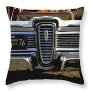 Classic Edsel Throw Pillow