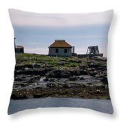 Classic Egg Rock Throw Pillow