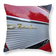 Classic Fins Throw Pillow
