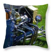 Classic Ford Hotrod Throw Pillow