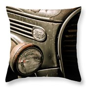 Classic Ford Truck Throw Pillow