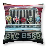Classic Humber Throw Pillow by Nick Bywater