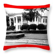 Classic In Black And White Throw Pillow