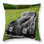 Classic Jag Throw Pillow