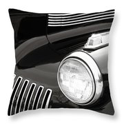Classic Lines Throw Pillow