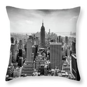 Classic New York  Throw Pillow
