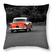 Classic Old Ford Mercury Throw Pillow