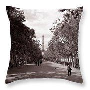 Classic Paris 10 Throw Pillow