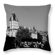 Classic Paris 12b Throw Pillow