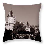 Classic Paris 12c Throw Pillow