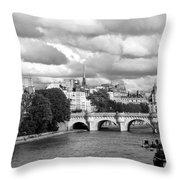 Classic Paris 5 Throw Pillow