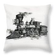 Classic Steam Throw Pillow