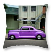 Classic Street  Throw Pillow