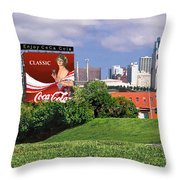 Classic Summer Throw Pillow