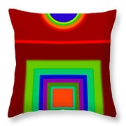 Classic Terracota Throw Pillow