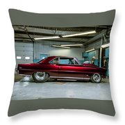Classic Vehicle Throw Pillow