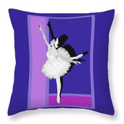 Classical Ballet Throw Pillow