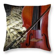 Classical Cello Throw Pillow