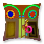 Classical Conundrun Throw Pillow