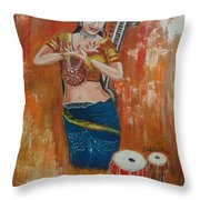 Classical Dance Throw Pillow