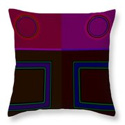 Classical Four Throw Pillow