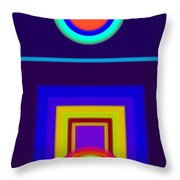 Classical Night Throw Pillow