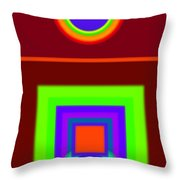 Classical Snack Throw Pillow