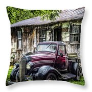 Classically Country Throw Pillow
