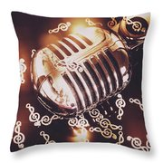 Classics At The Audio Hall Throw Pillow