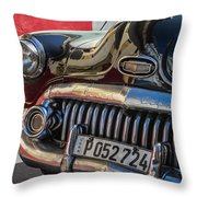 Classics Of Havana Throw Pillow