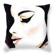 Classy Lady Throw Pillow