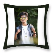 Classy Pic Throw Pillow