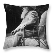 Claude Monet (1840-1926) Throw Pillow