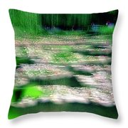 Claude Monets Water Garden Giverny 1 Throw Pillow