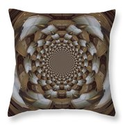 Clawing Out Throw Pillow