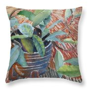 Clay Pot Throw Pillow