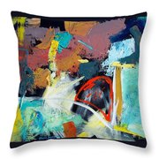 Clay Quilt Throw Pillow