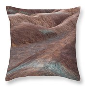 Clayscape Throw Pillow