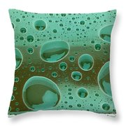 Clean And Green Throw Pillow