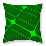 Clean Energy Throw Pillow