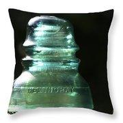 Clean Glass Throw Pillow
