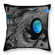 Clean Water Quest Throw Pillow