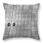 Clean Windows #2 Throw Pillow